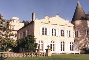 木桐酒庄的城堡