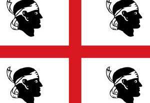 撒丁岛的旗帜